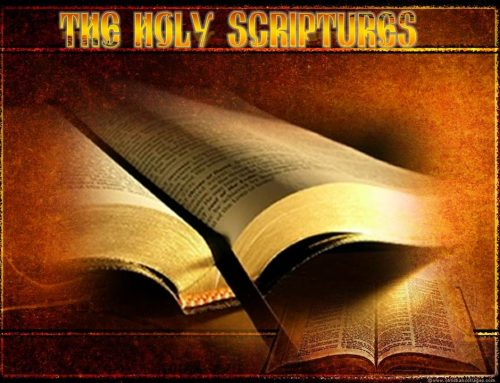 1. THE HOLY SCRIPTURES